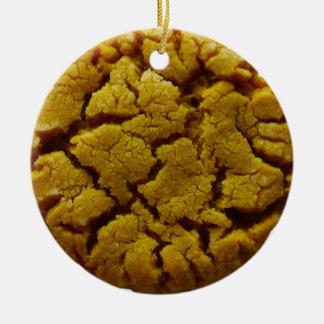 Erdnussbutter-Plätzchen Keramik Ornament