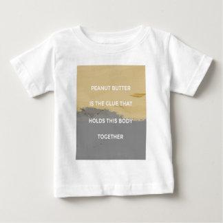 Erdnussbutter-Regeln Baby T-shirt