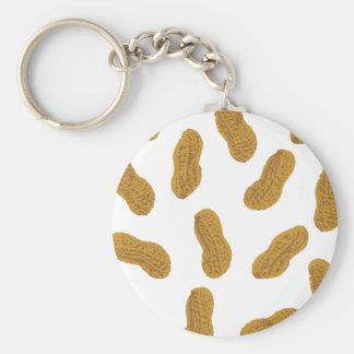 Erdnussmuster Schlüsselanhänger