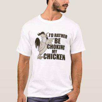 Erdrosseln des Huhns T-Shirt