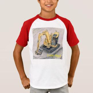 Erdurheber scherzt Shirt-Bau-Fahrzeuge T-Shirt
