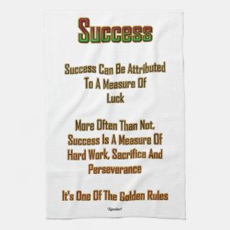Erfolg Handtuch