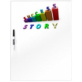 Erfolgs-Geschichten-Inspirational motivierend Memo Boards