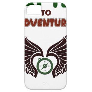 erforschen Sie Abenteuerlebencampusgeschenkt-shirt Etui Fürs iPhone 5