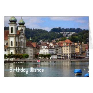 Erforschen Sie die Schweiz, Luzern Karte