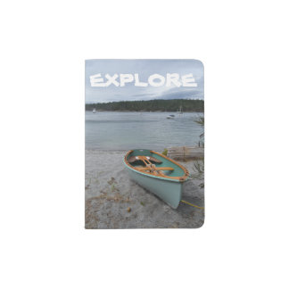"""""""Erforschen Sie"""" Pass-Halter mit Reihen-Boot Passhülle"""