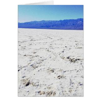 Erforschen Sie Salze @ Badwater Becken    Death Karte
