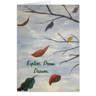 Erforschen Sie. Traum. Entdecken Sie Karte