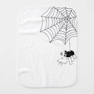 Erfüllte Spinne Baby Spucktuch