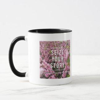 Ergreifen Sie Ihre Geschichte 11-Unze-kombinierte Tasse