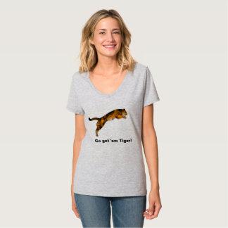 Erhalten gehen ihnen Tiger-T - Shirt - niemand