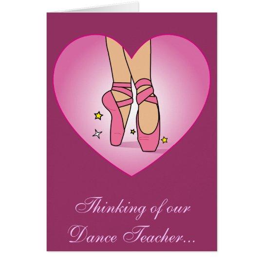 Erhalten Sie Brunnen bald für Tanz-Lehrer Karte