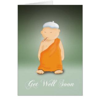 Erhalten Sie Brunnen-bald - Mönch Karte
