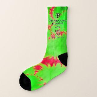 Erhalten Sie durch Außerirdischen entführt und Socken