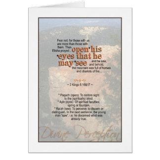 Erhalten Sie einen göttlichen Standpunkt - 2 Karte