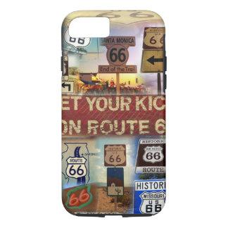 Erhalten Sie Ihre Tritte auf Weg 66 iPhone 8/7 Hülle
