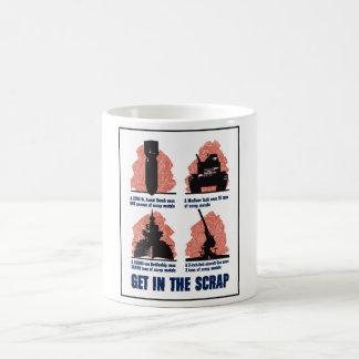 Erhalten Sie im Schrott -- WW2 Kaffeetasse