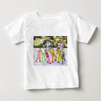 Erhalten Sie unten! Baby T-shirt