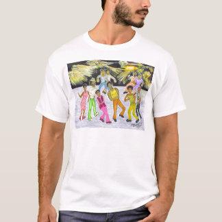 Erhalten Sie unten! T-Shirt