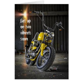 Erhalten Sie wohle bald Motorrad-Unfall-Karte Karte