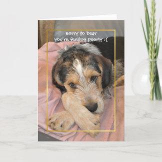 Erhalten Sie wohlen bald Hund Karte