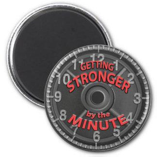 Erhalten stärker bis zum der Minute Runder Magnet 5,1 Cm