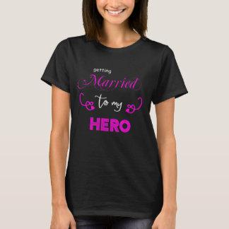 Erhalten verheiratet zu meiner HELD Braut T-Shirt