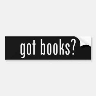 erhaltene Bücher? Autoaufkleber
