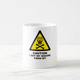 erhaltene Gehirne Kaffeetasse