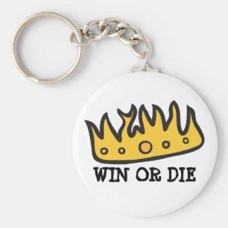 Erhaltene Krone (von rohem Schrei-Eulen-König) Schlüsselanhänger