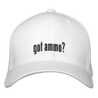 Erhaltene Munition? Bestickte Kappe