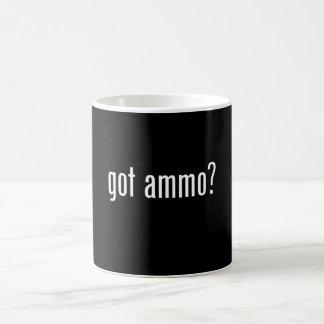 erhaltene Munition? Kaffeetasse