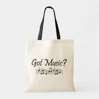 Erhaltene Musik Einkaufstaschen