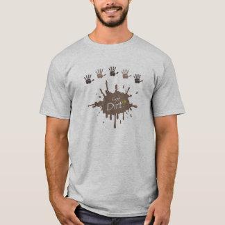 Erhaltener Schmutz? Farbe Ihres auserlesenen T-Shirt