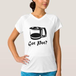 Erhaltener Topf-Kaffee-Topf T-Shirt