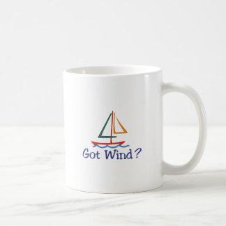 Erhaltener Wind? Kaffeetasse