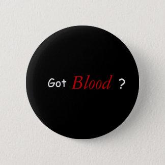Erhaltenes Blut? Runder Button 5,1 Cm
