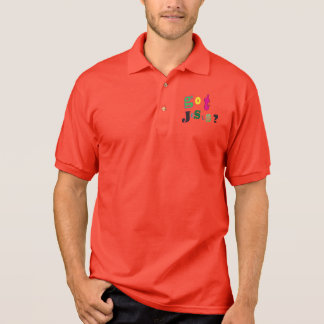 Erhaltenes Jesusgraffiti-Shirt Polo Shirt
