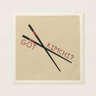 Erhaltenes Kimchi?  Papiercocktail-Servietten Serviette