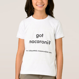 erhaltenes Makkaroni? T - Shirt