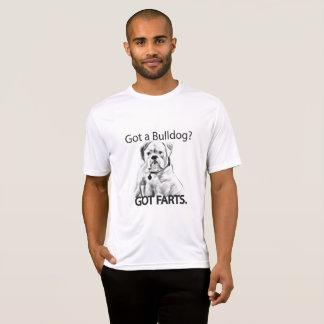 ERHIELT EINE BULLDOGGE? ERHALTENE FURZEN T-Shirt