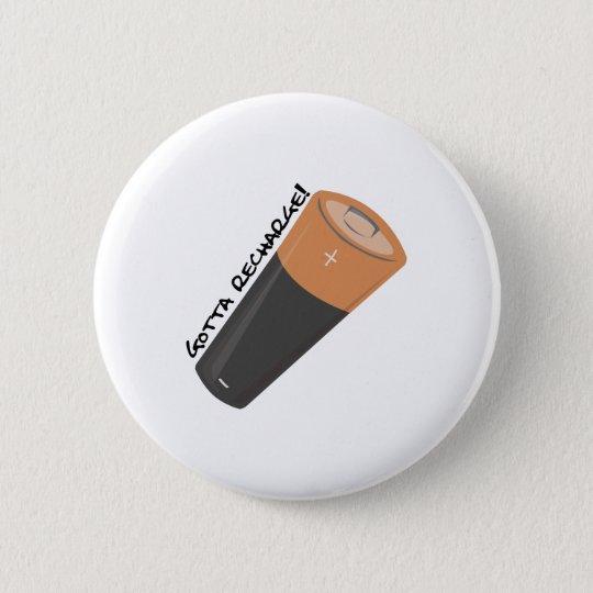 Erhielt neuzuladen runder button 5,7 cm