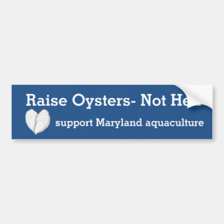 Erhöhung Austern-Nicht Hölle Autoaufkleber
