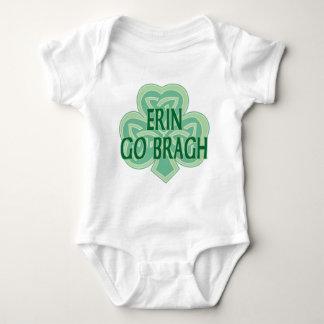 Erin gehen Bragh Säuglings-Strampler Baby Strampler