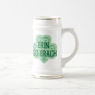 Erin gehen Bragh Stein Bierkrug