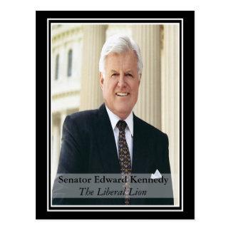 Erinnern an Ted Kennedy Postkarte