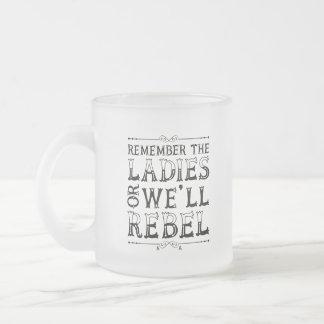 Erinnern Sie sich die an Damen (Tasse) Mattglastasse