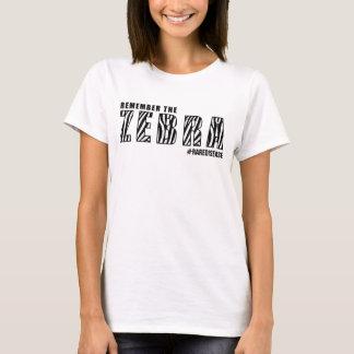 ERINNERN SIE SICH DIE AN ZEBRA/RARE KRANKHEIT T-Shirt