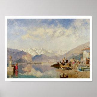 Erinnerungen an den Lago Maggiore, Markt-Tag an Poster