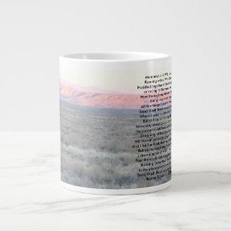 Erinnerungen eines wilden Landes Jumbo-Tasse